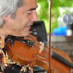 Paul & Stacey Gig, Newtown, CT, fiddle, dobro, guitar, lead vocal, neo-urban