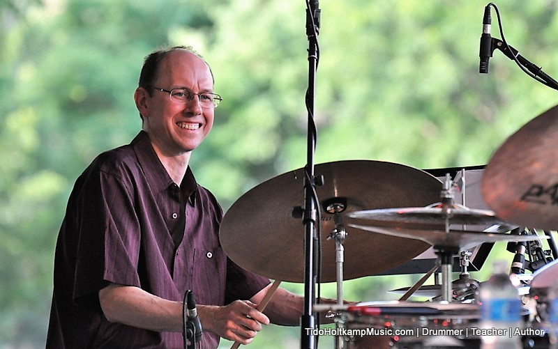 Tido Holtcamp Music-Drummer-Teacher-Author