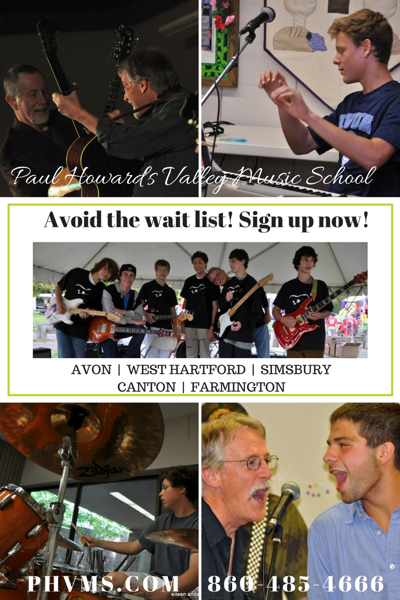 Guitar lessons, piano lessons, drum lessons, electric guitar, rock band class, voice instruction, avon, simsbury, west hartford, canton, farmington