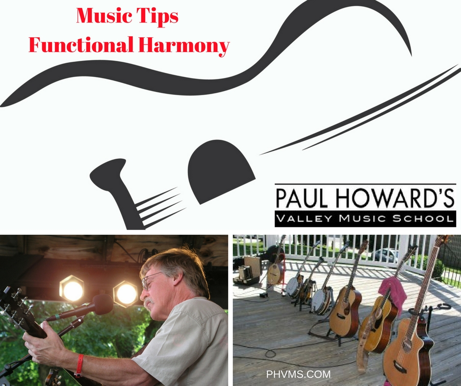 Functional Harmony - Music Tips - Paul Howard