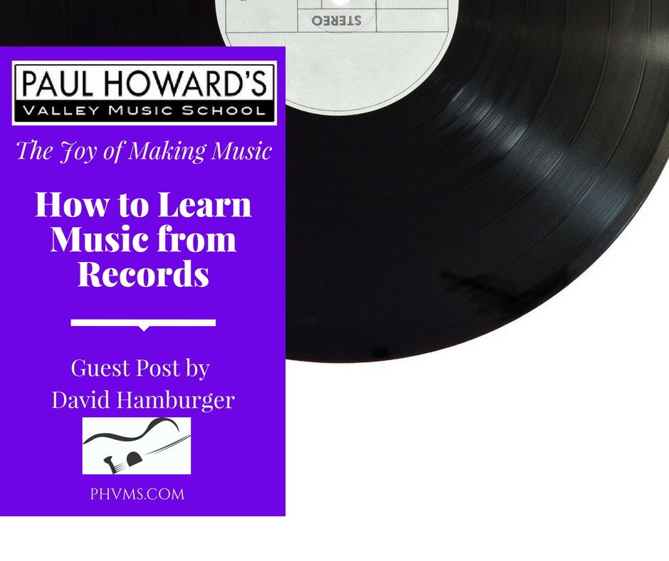 How to learn music from Recordings