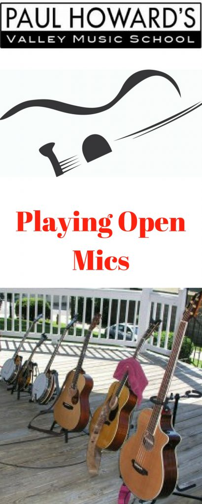 How to play open mics